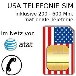 Usa Prepaid Telefonkarte Im At T Netz Prepaid Discount De