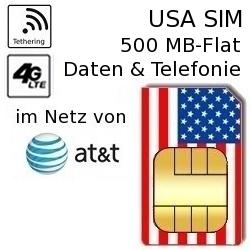 USA SIM im AT&T-Netz