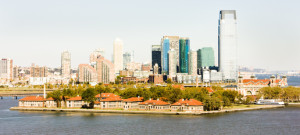 Ellis Island and New York City, USA