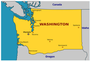 Im Evergreen State Washington