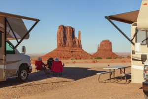 The View Campground, Monument Valley