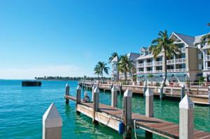 Typische Architektur von Key West